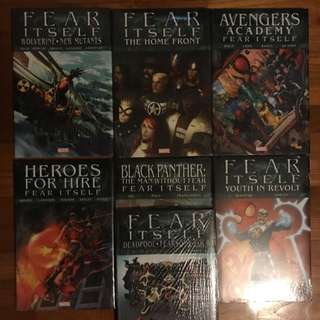 Marvel Comics Fear Itself Arc Hardcover