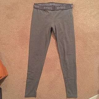Grey garage leggings