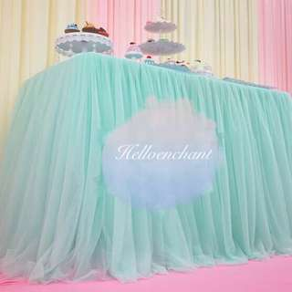 Table Tulle Tutu Skirt (v2.0)