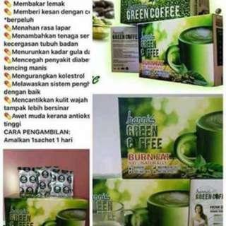 Hannis greentea coffee