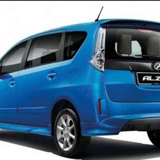 Car rental at price starting RM90