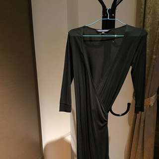 French Connection Black Dress Size 8