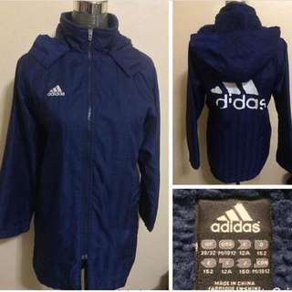 ADIDAS WINTER JACKET (no more adidas print at the back ) M-semi L