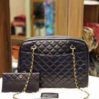 Chanel Vintage Quilted Chain