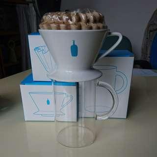 Blue bottle coffee dripper set