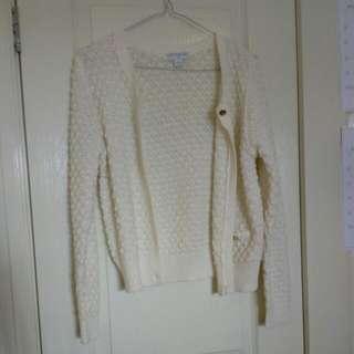 Size xs Cotton On White Cardigan