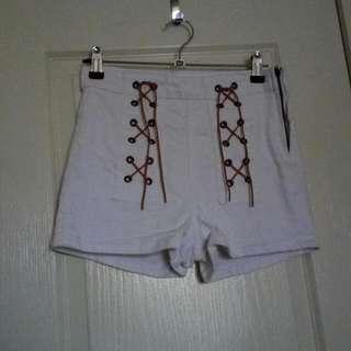 Size 8 Cotton On White Shorts