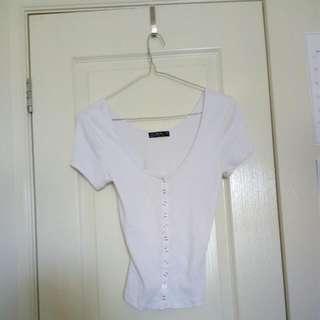 Size Medium White Cotton On Top