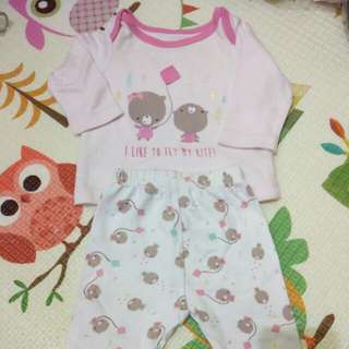 Mothercare set  up to 1 months 4,5 kg