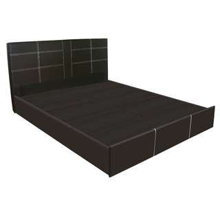 LARRY QUEEN SIZE PU BED