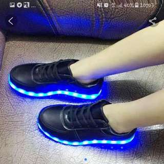 Size 38 left LED Shoes instock!