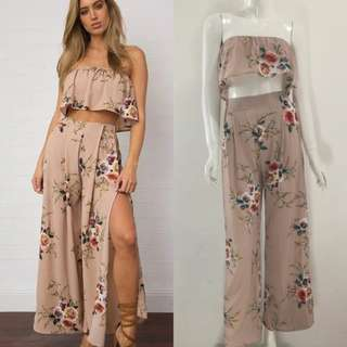 Top+pant 2pcs set Size 6 8