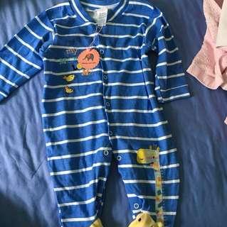 BNWT baby sleepsuit