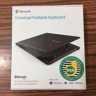 Microsoft Universal Foldable Keyboard 鍵盤