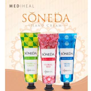[Mediheal] SONEDA Hand Cream 50ml (3 FLAVOUR)