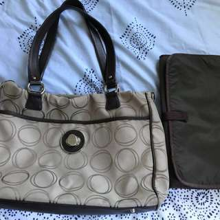 Oroton signature baby bag Large