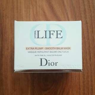 BNIB Dior Hydra Life Extra Plump - Smooth Balm Mask
