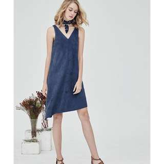 BNIB Megagamie Dorian Relax Dress in Blue