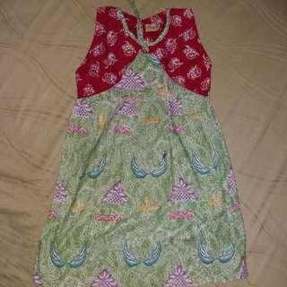 Margaria batik dress
