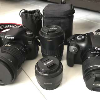 Canon eos 60D set with sigma 17-50mm f2.8