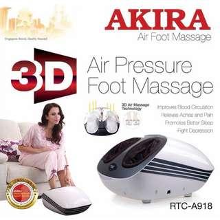 Foot massager AKIRA 3D foot and calf massager