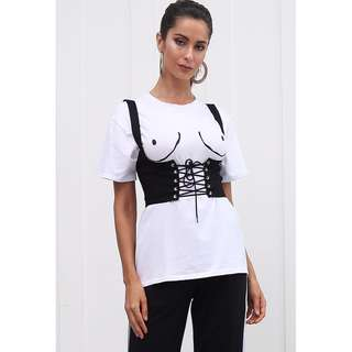PRE ORDER Corset Lace up Top