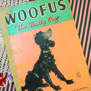 古董童書<Woofus the Woolly Dog>