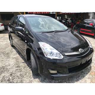 Toyota Wish 2.0 (A) S VVT-I LOCAL FULL SPEC 2006
