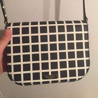 25% off! Kate Spade Checkered small satchel