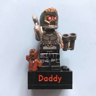 Starlord minifig (Guardians of the Galaxy) ref magnet (personalized)
