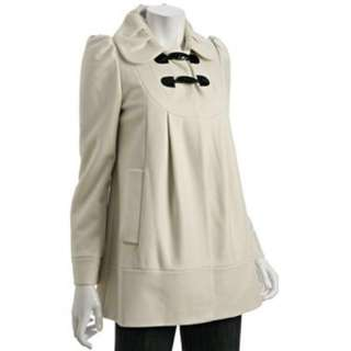 *PRICE DROP* French Connection White Toggle Coat