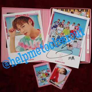 [PROOF]  GROUP ORDER WANNA ONE DEBUT ALBUM (TO BE ONE) WITH SIGNATURE ARRIVAL