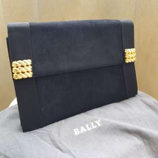 BALLY Classic Black Clutch