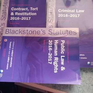 Blackstone Statutes