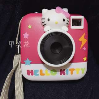 美國帶回hello kitty 幼兒玩具相機