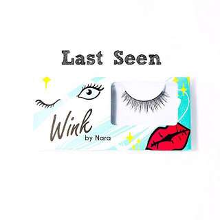 Fake Lashes from wink by nara