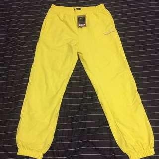 HUF 褲子  稀有螢光黃褲 尺寸M