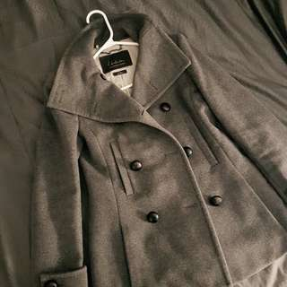 Grey Cashmere Fall/Winter Jacket