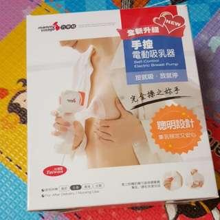 六甲村 手動吸乳器 台灣製 需自行配儲奶瓶