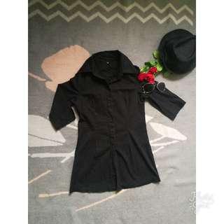 Black Long Top (XS)