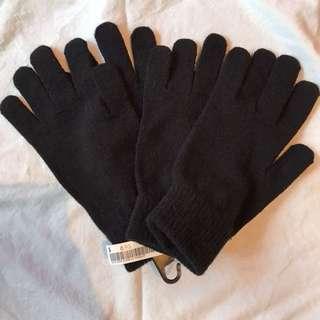 2 sets of BN H&M Black Gloves