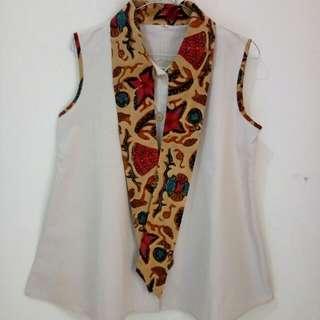 Atasan Combi Batik