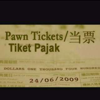 Buy In all Pawn tickets & watches like rolex