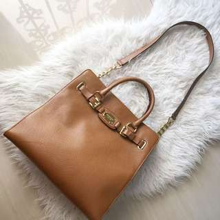 Authentic Michael Kors Hamilton Large Tote Travel Bag