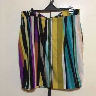 Prima printed Skirt US 12/L-XL