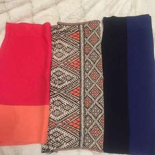 BCBGMAXAZRIA Skirts!