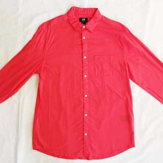 ⭐️SPECIAL OFFER⭐️H&M Red Shirt