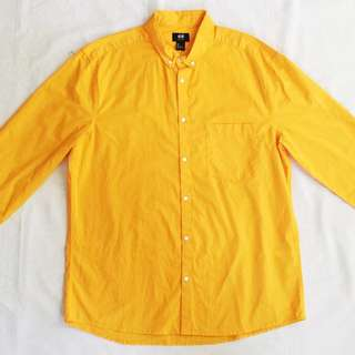 ⭐️SPECIAL OFFER⭐️H&M Yellow Shirt