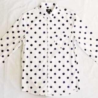 ⭐️SPECIAL OFFER⭐️H&M Polka Dot Shirt