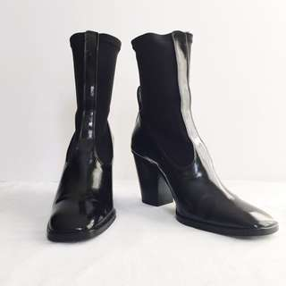 MANGO Ankle Boot (Black)
